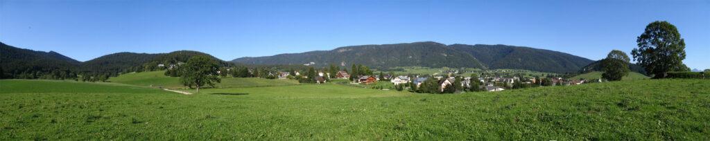 Panoramique - Autrans depuis le bourg de dessous