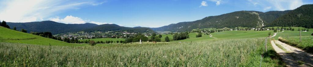 Panoramique- Autrans depuis le Claret