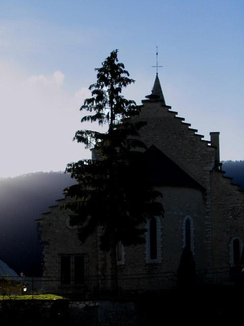 Eglise Saint-Nicolas - Crépuscule