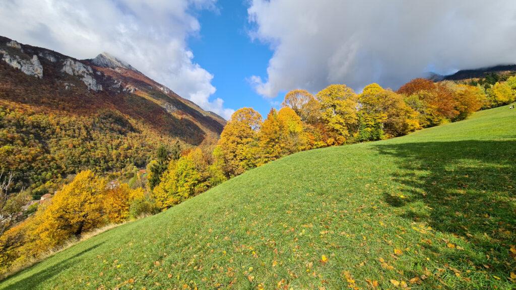 Automne en Chartreuse - Sous le col de la Charmette