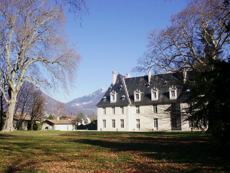 chateau de Sassenage - façade arrièere