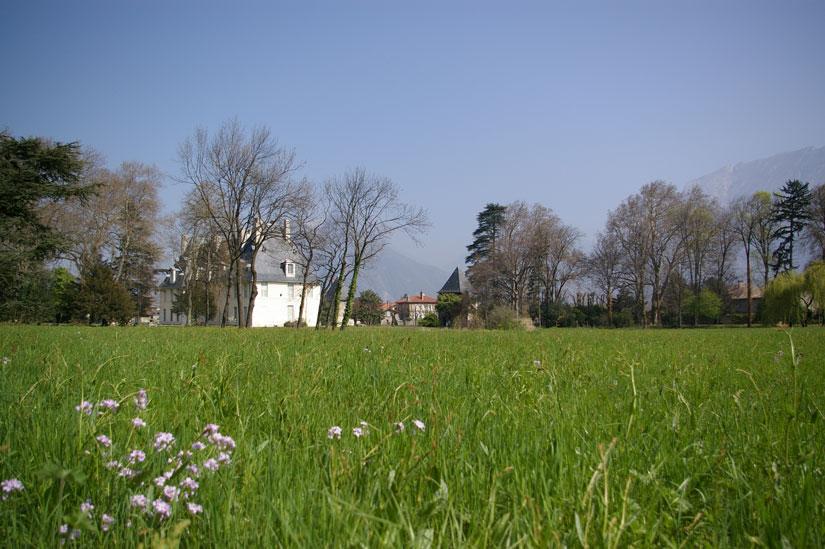 parc chateau sassenage printemps