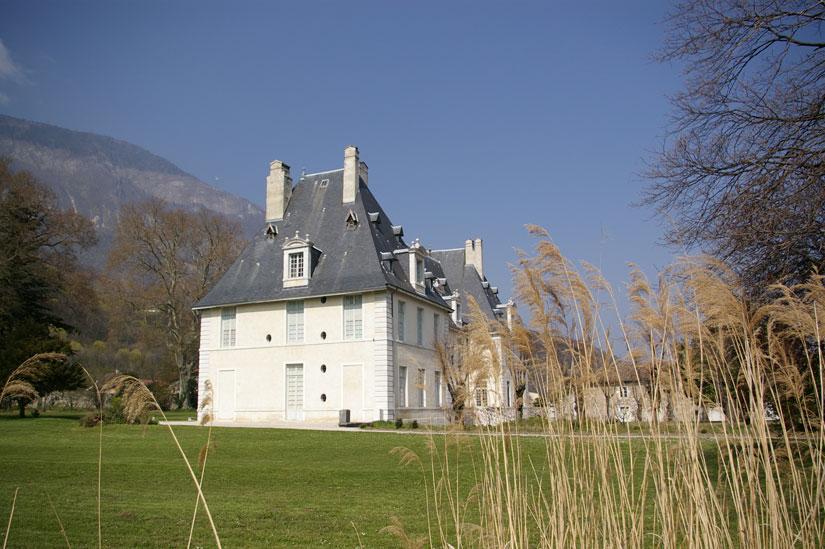 chateau de Sassenage - parc