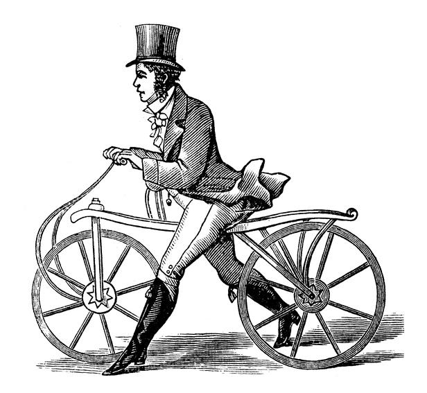 Draisine, vélo