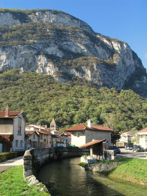 photo vieux village sassenage rivière furon quaix lavoir