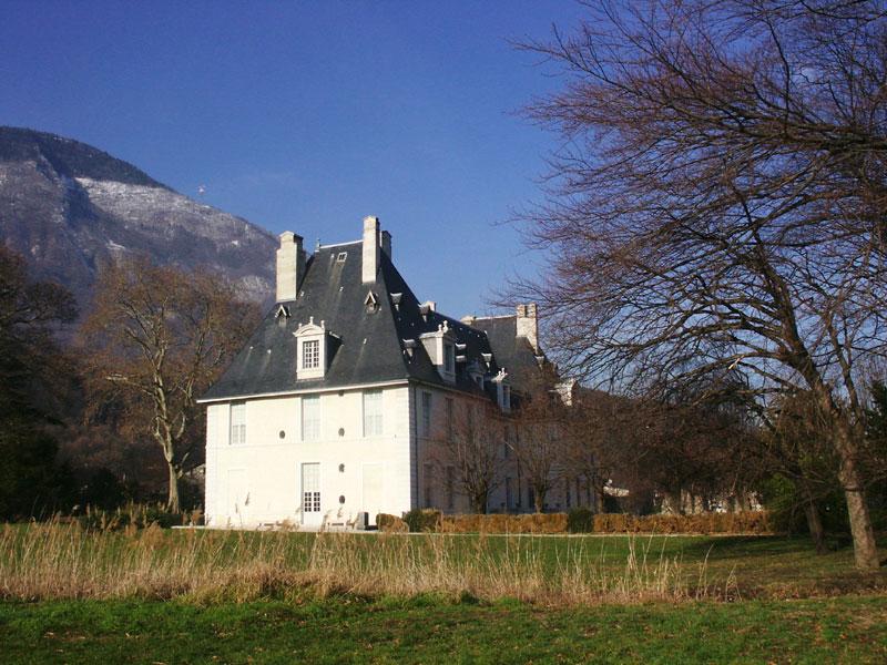 jardin anglais château de Sassenage