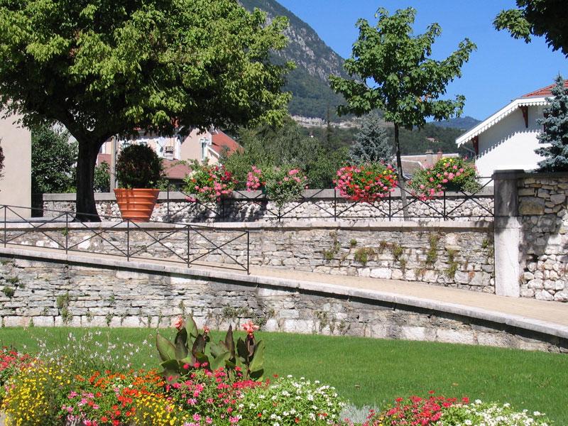 jardins mairie Sassenage