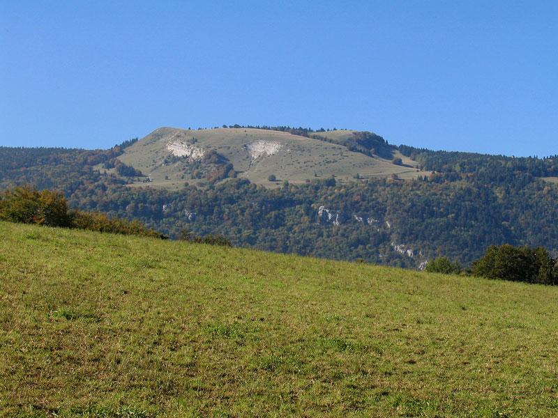 Plateau de Sornin depuis la ferme Durand
