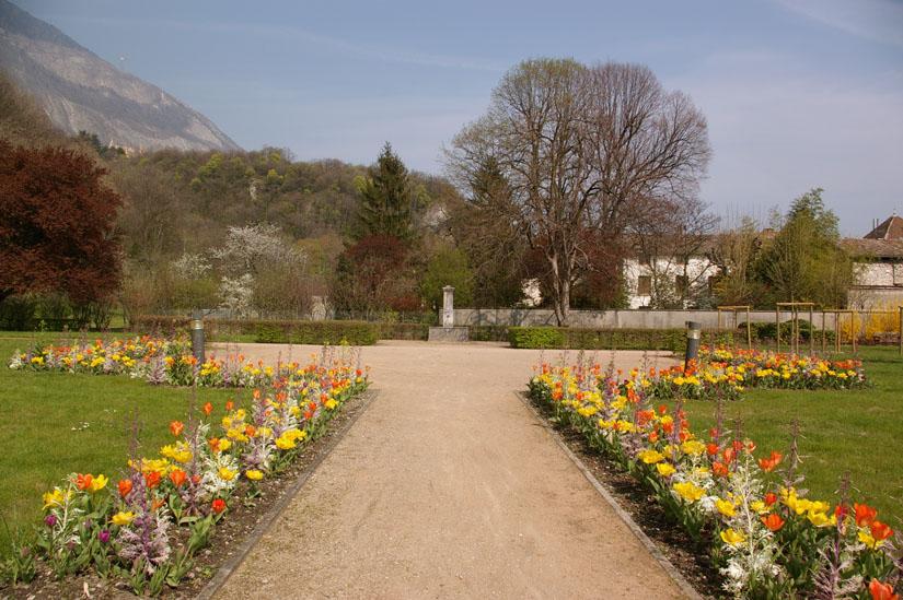 fontaine jardin notre Dame Sassenage