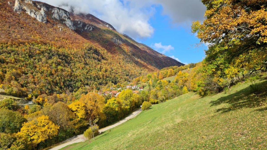 photo paysage montagne chartreuse automne