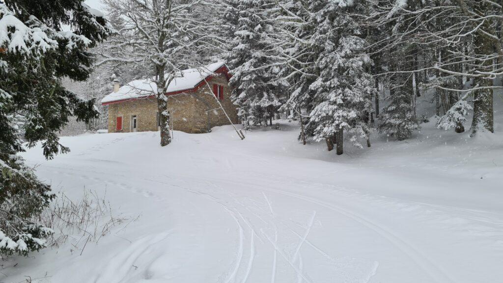 cabane d'Achieux Méaudre