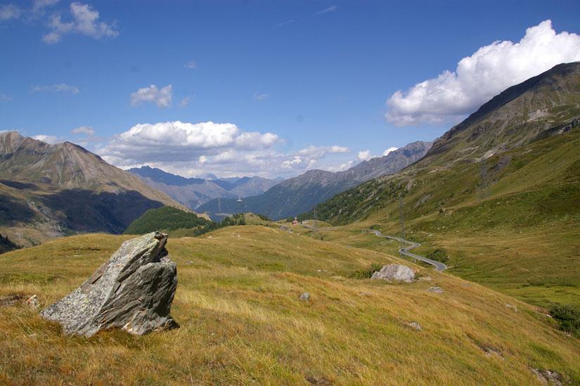 Col du Petit Saint-Bernard, côté Aoste