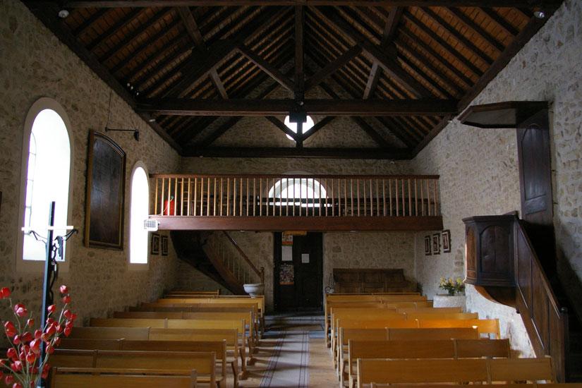 Eglise d'engins - Nef