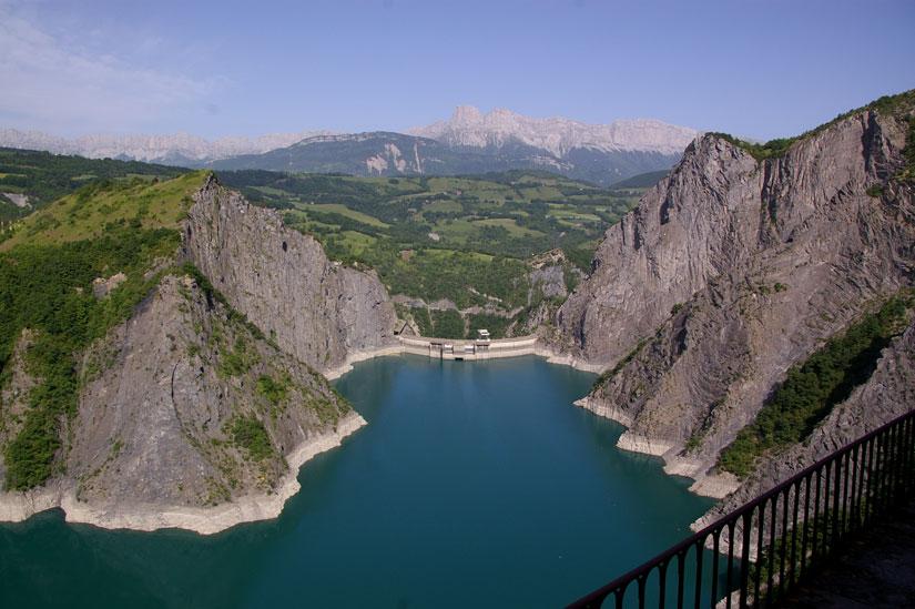 lac barrage monteynard