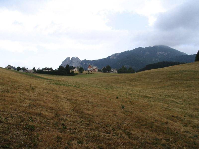 champs à Saint-Nizier du Moucherotte